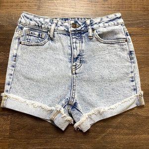 Girls Mom Shorts High wasted denim shorts 14